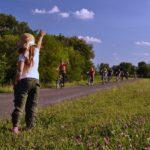 Biciklitúra a töltésen