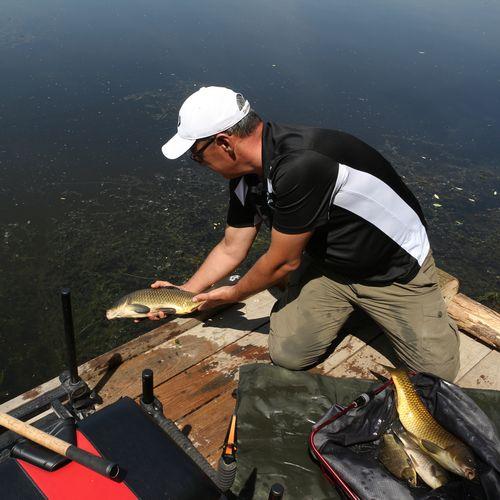 Horgászat a bédai holtágakon